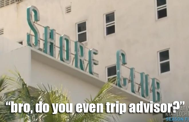 RYAN Lochte and the Lochterage stayed at the Shore Club in Miami during Spring Break.