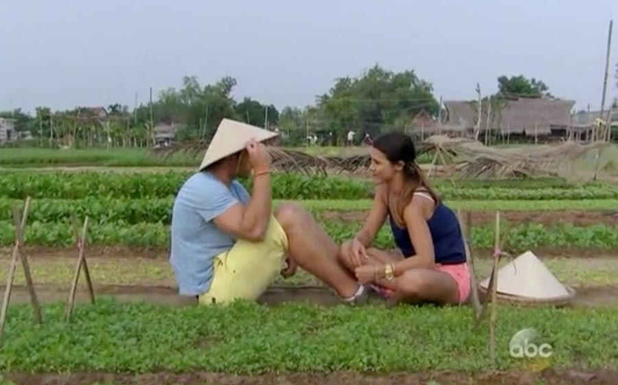The Bachelor Juan Pablo and Andi in Vietnam.