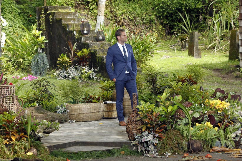 The Bachelor Juan Pablo waits to give the final rose to Nikki or Clare.