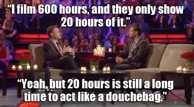 Host Chris Harrison and Bachelor Juan Pablo talk about his time on the show.