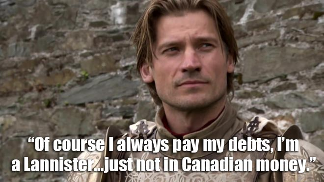 The actor who plays Jamie Lannister on Game of Thrones was in the Celine Dion video.