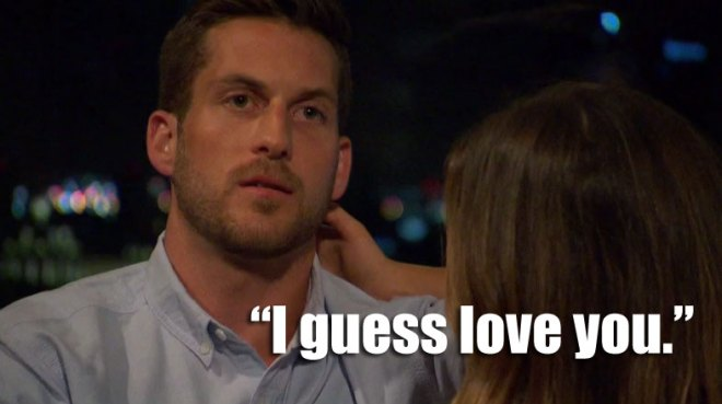 Chase and JoJo talk on their date on the Bachelorette.