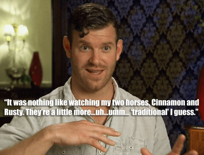 James feels like he's not as good as the other guys for JoJo on the Bachelorette.
