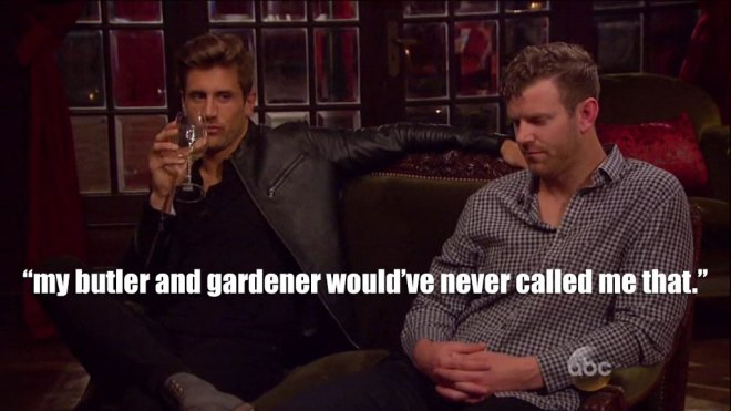 Jordan gets mad at james for calling him entitled to JoJo on the Bachelorette.