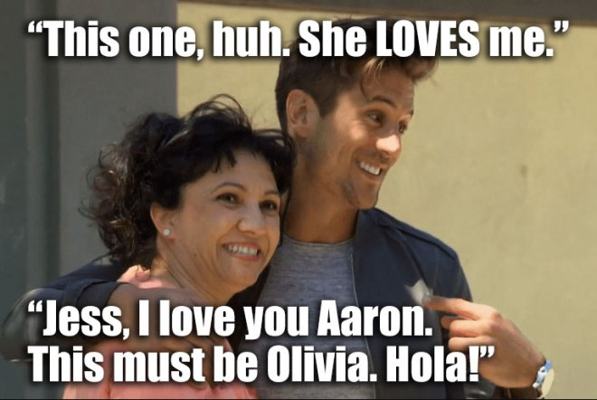 Jordan and JoJo meet his spanish teacher on the bachelorette.