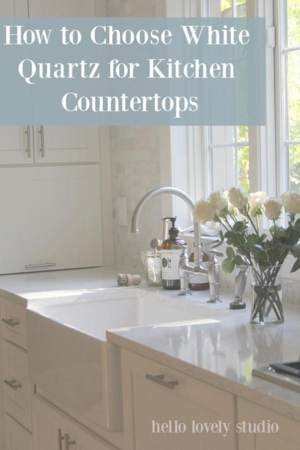 white quartz for kitchen countertops