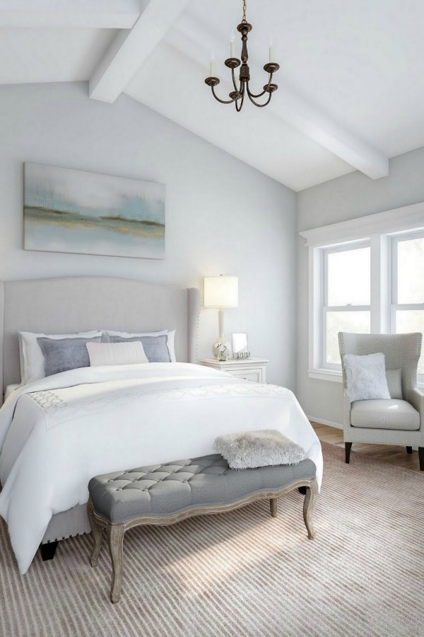 timeless and tranquil bedroom decor