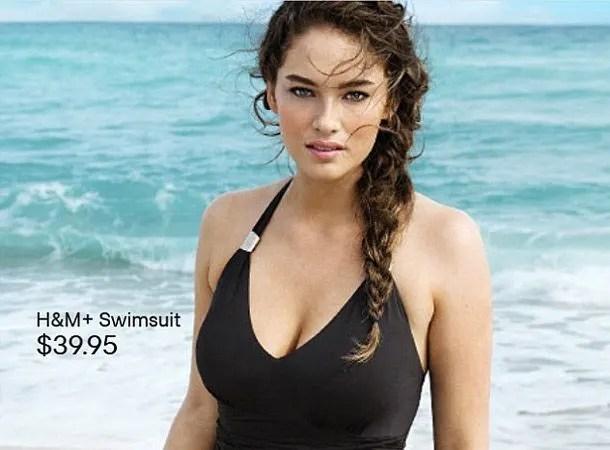 plus sized models H&M
