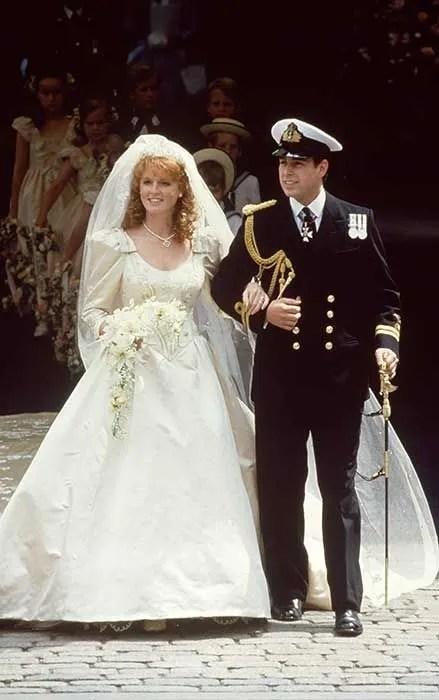 Sarah Ferguson Prince Andrew Wedding