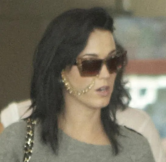 Katy Perry And Russell Brand Arrive In India For Their Wedding