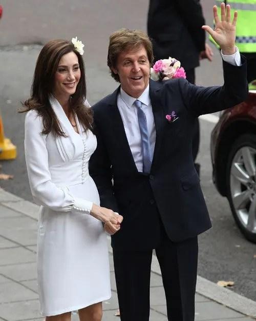 Paul McCartney Marries His American Fiance Nancy Shevell