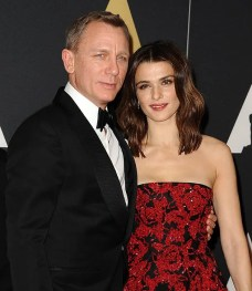 Image result for daniel craig and rachel weisz wedding pictures
