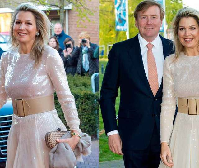 Celebrity Daily Edit Queen Maxima Shines Bright Like A Diamond Notre Dame Cathedral