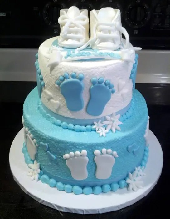 Baby Shower Birth Cake