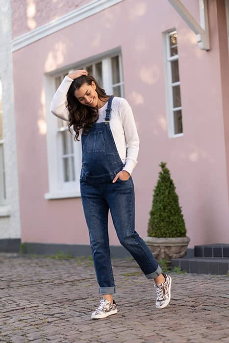 Kate's favourite maternity brand just launched denim dungarees