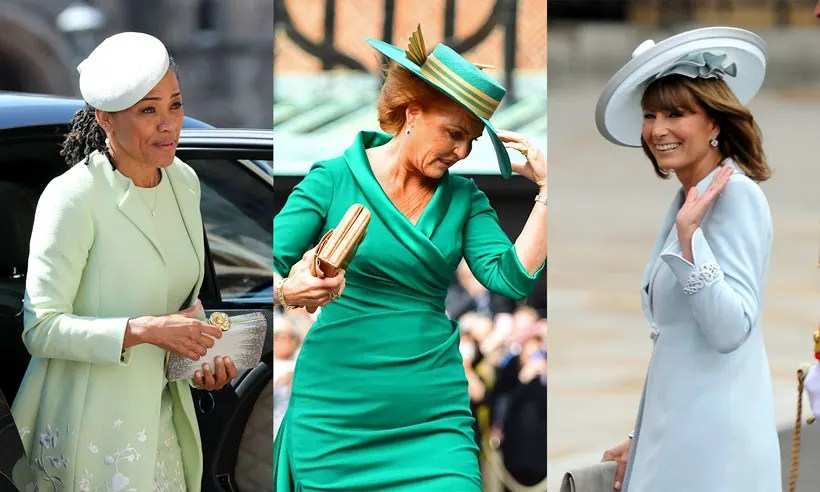 Video The Chicest Royal Wedding Mother Of The Brides