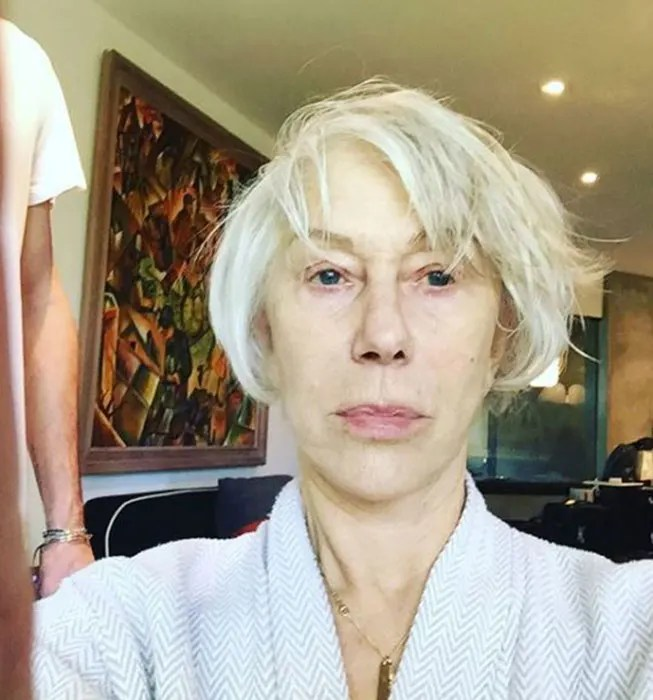 Lorraine Kelly Shares Makeup Free Selfie Inspired By Helen