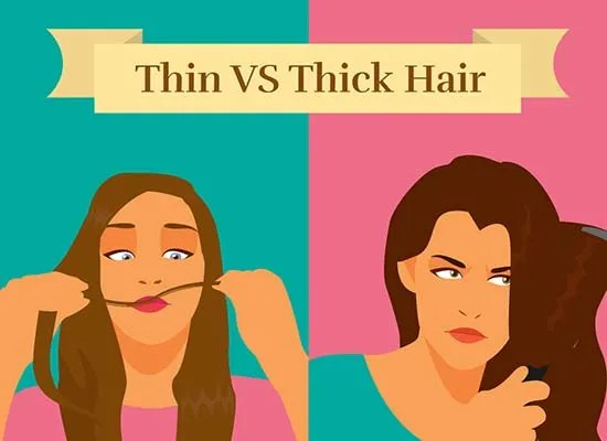 Thick Hair Vs Thin Hair How To Manage Both