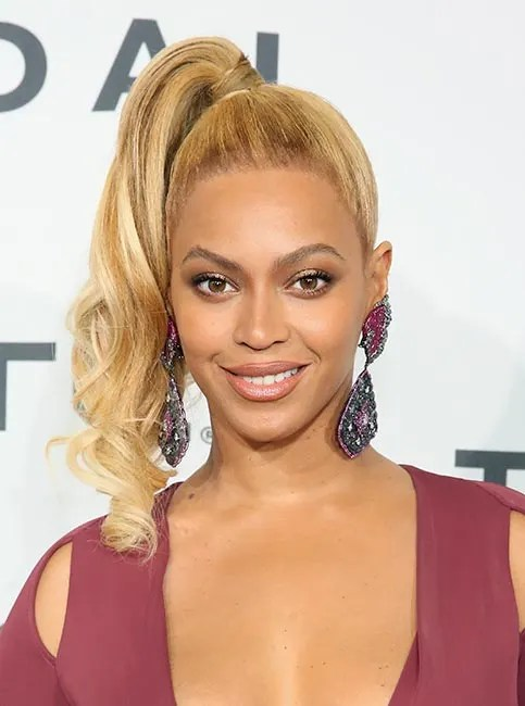 Beyonc Debuts Lighter Blonde Hairstyle