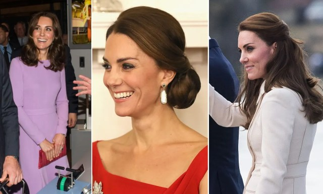 kate middleton's best ever royal tour hairstyles - all the