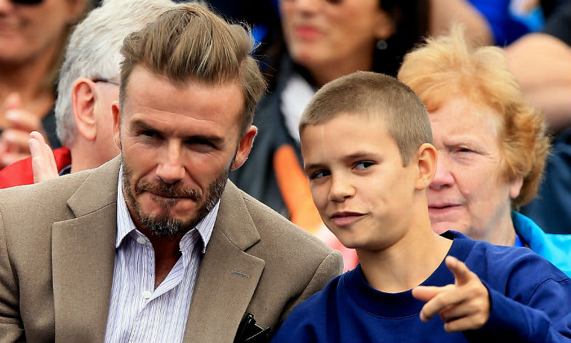 Romeo Beckham Gets Hair Transformation During Day Out With