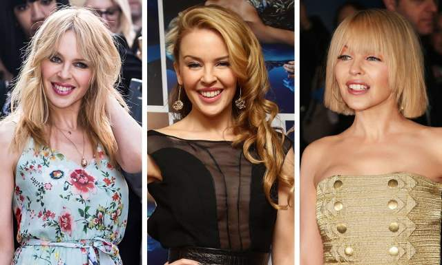 kylie minogue's best hairstyles over the years: from long to