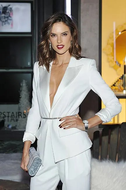 Alessandra Ambrosios Sultry Makeup Get The Look