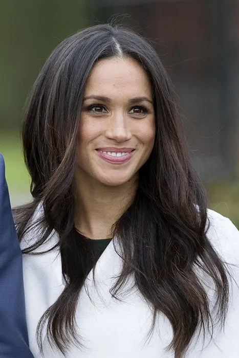 Meghan Markles Glowing Engagement Photocall Make Up
