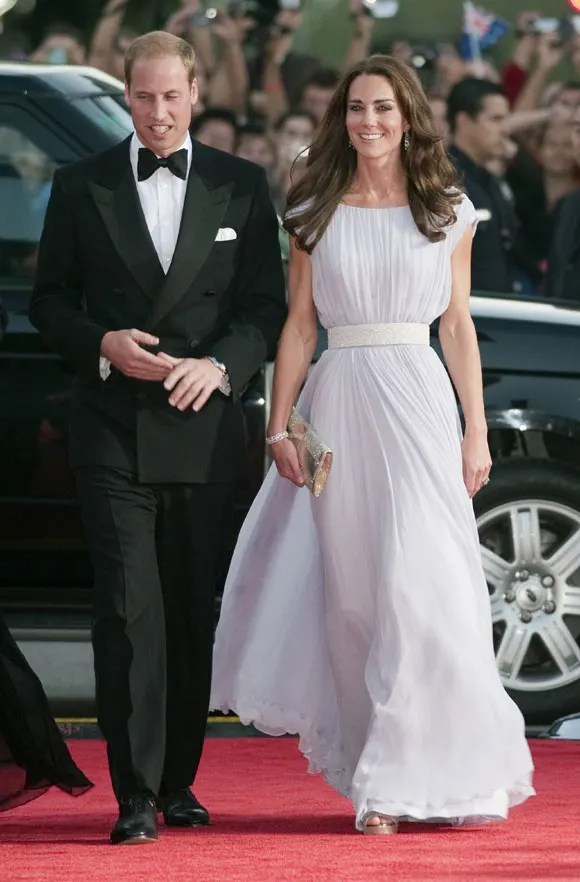 Prince William And Kate Middleton Attend BAFTA Gala With