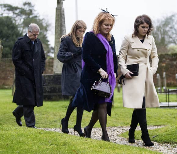 Duchess Of Yorks Stepmother Susan Remarries