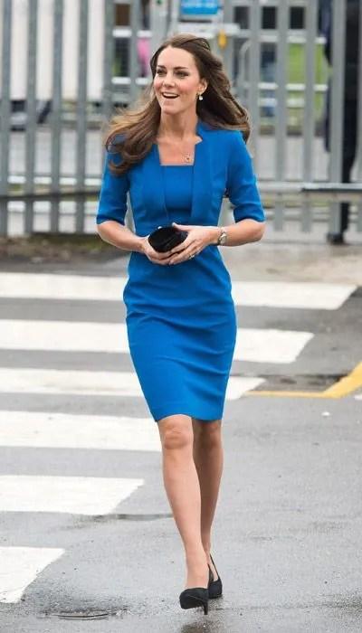 Kate Middleton Attends Northolt High School