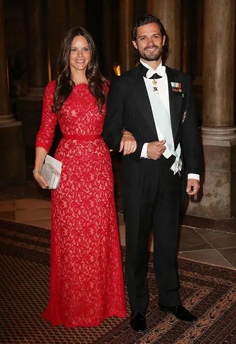 Sofia Hellqvist And Prince Carl Philip Attend Gala Dinner