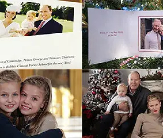 Greetings From The Royals The Best Christmas Cards Of