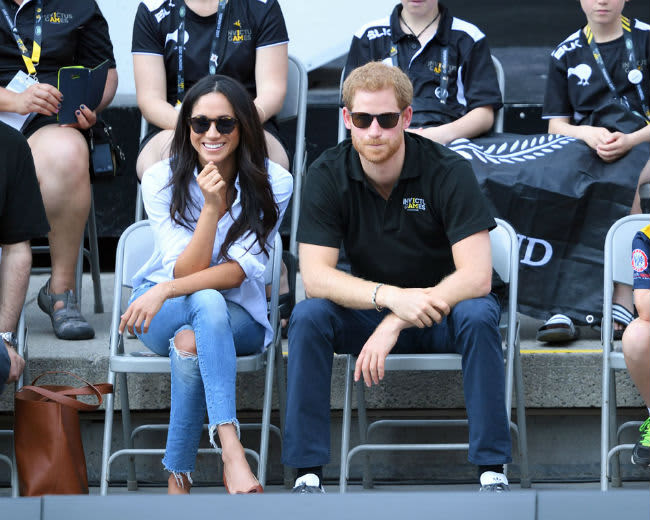 Prince Harry And Meghan Markles Body Language Revealed By