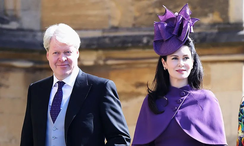 Princess Diana's brother Earl Spencer is all smiles as he ...