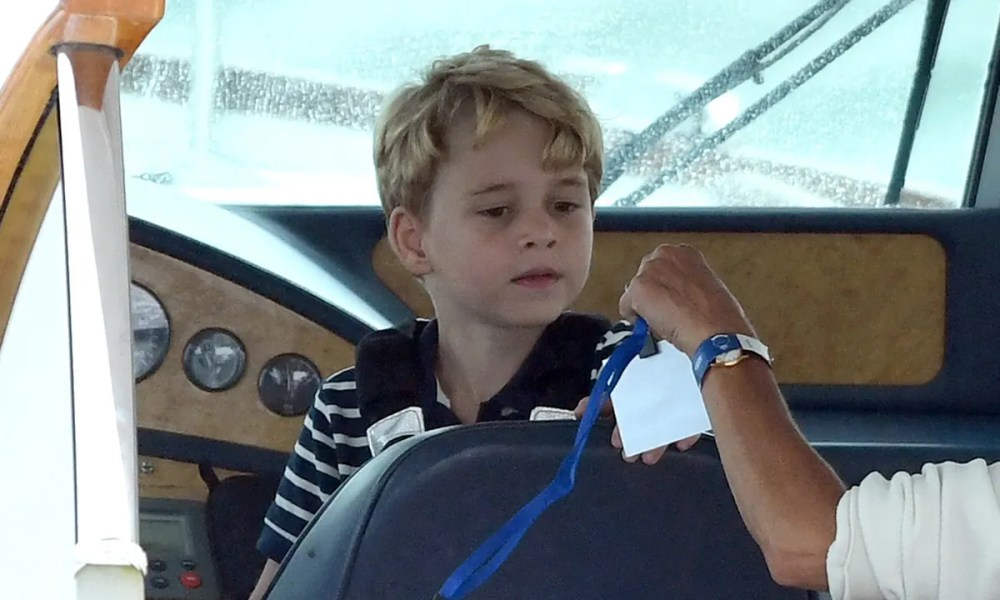 prince george on a boat