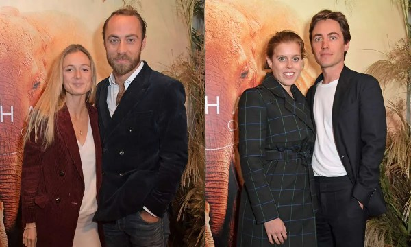 James Middleton and fiancée make first appearance since engagement with Princess Beatrice and Edoardo Mapelli Mozzi