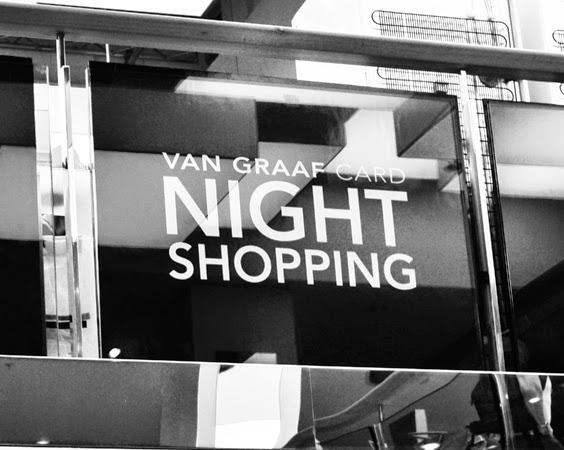 Event: Van Graaf –  Night Shopping