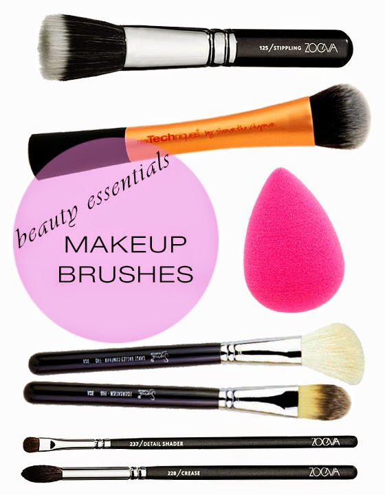 Beauty: Makeup Brushes