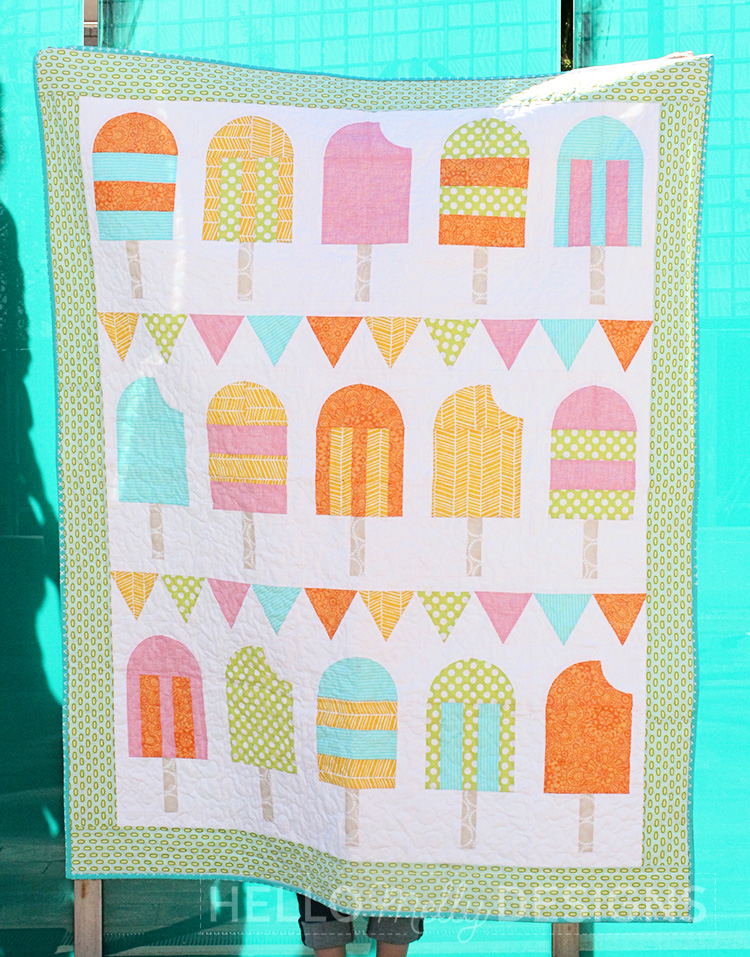 Popsicle Parade Quilt Pattern Print Fabrics