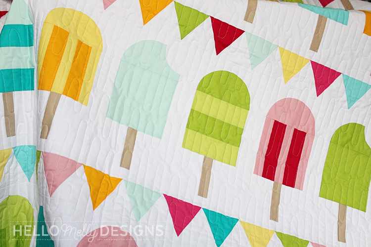 Popsicle Parade Quilt Pattern Quilting