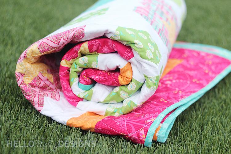 Garden Grow Quilt Roll