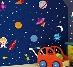 dekorasi luar angkasa