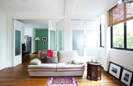 rumah terang dan bersih