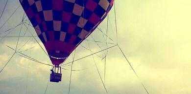 Kampung Gajah balon udara
