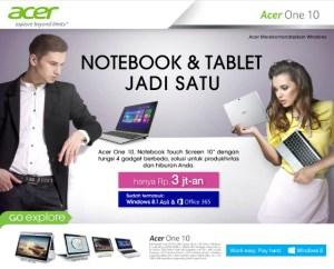 Harga Dan Kualitas Acer One 10 Seimbang