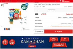 Sembako Super Hemat untuk Parcel Lebaran
