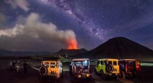 Gunung Bromo Bima Sakti Milky Way