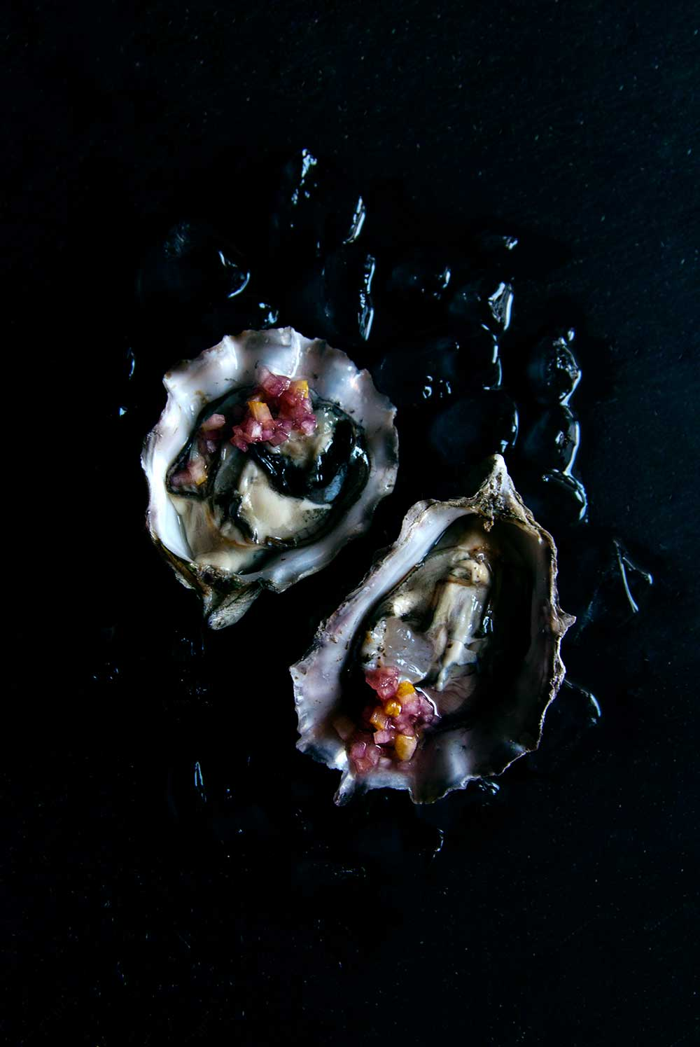 Hello My Dumpling | Valentine's Day Oysters with Buddha's Hand Mignonette
