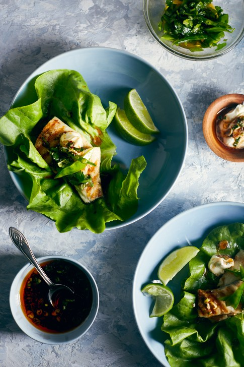 Barramundi Fish Ssam (Lettuce Wrap) | Hello My Dumpling (ready to eat in under 15 minutes)